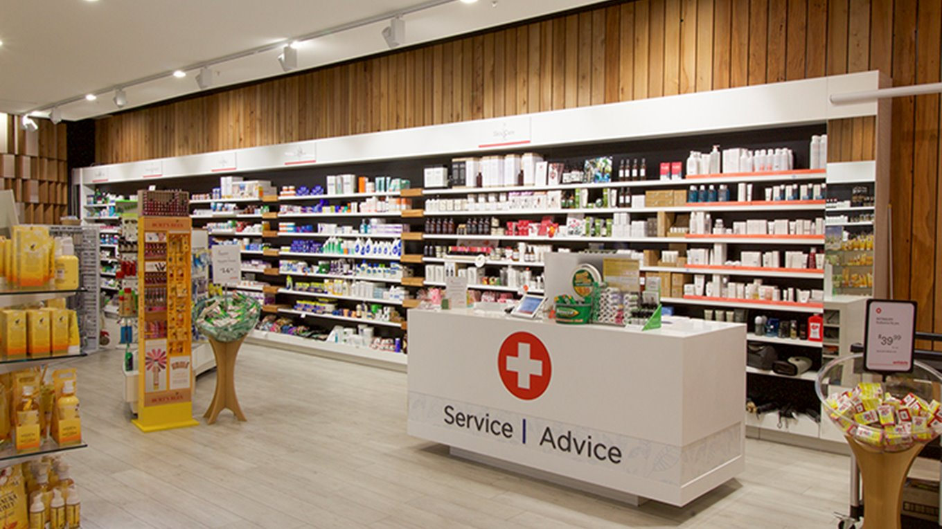 Meridian antidote pharmacy fit out and shopfit
