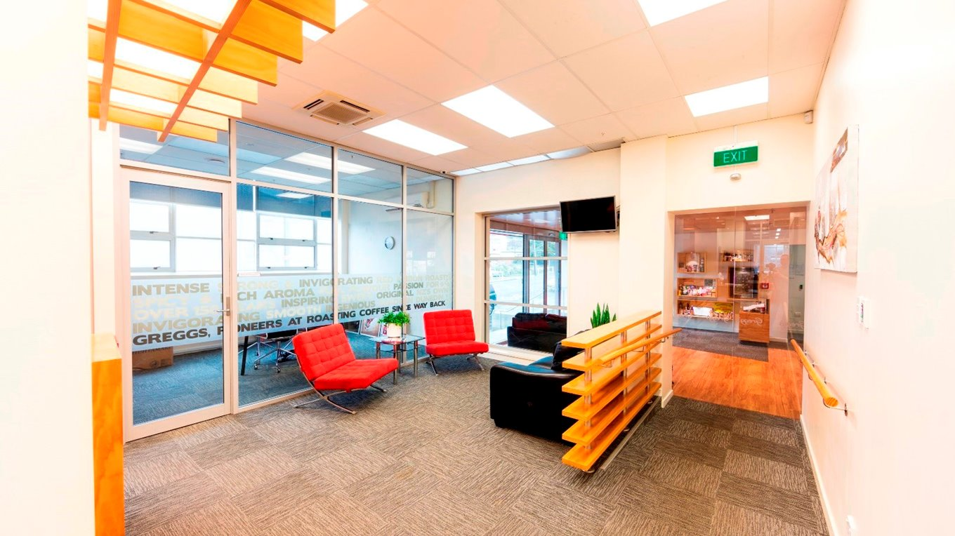 commercial office fit out office interior dunedin