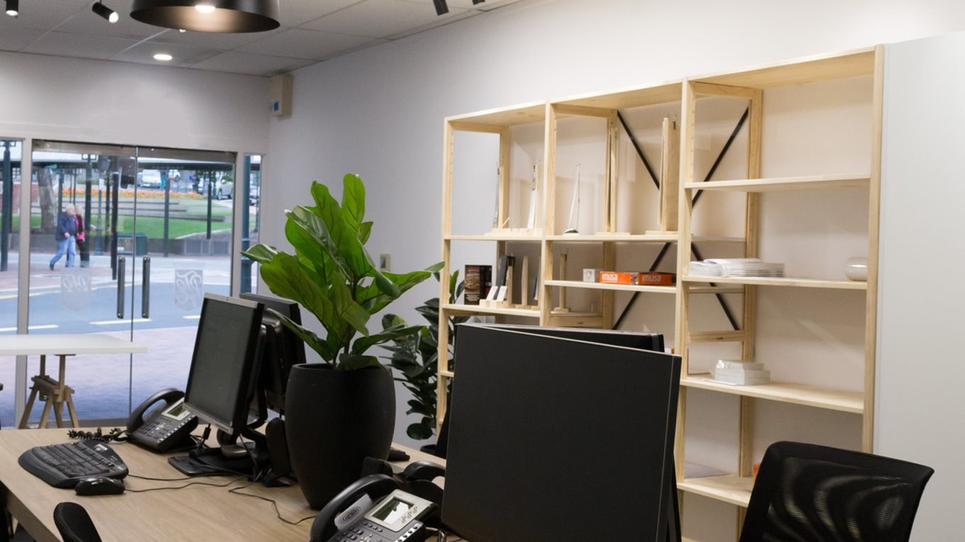 collaborative workspace at ezyprint dunedin