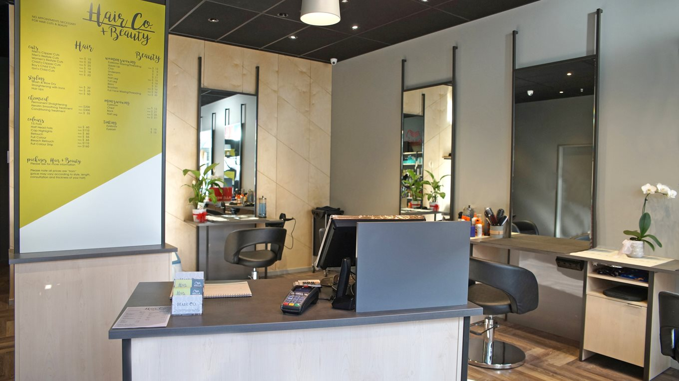 Salon and retail store fitout