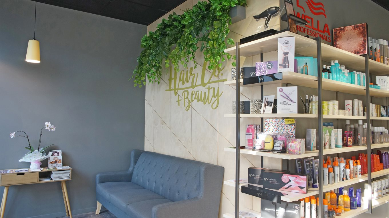 retail store fit out Hair Co Christchurch