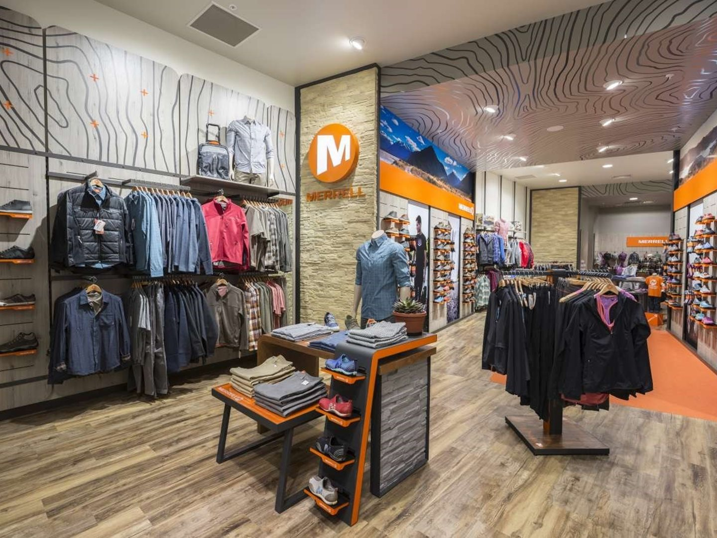 Merrell Retail Fit out