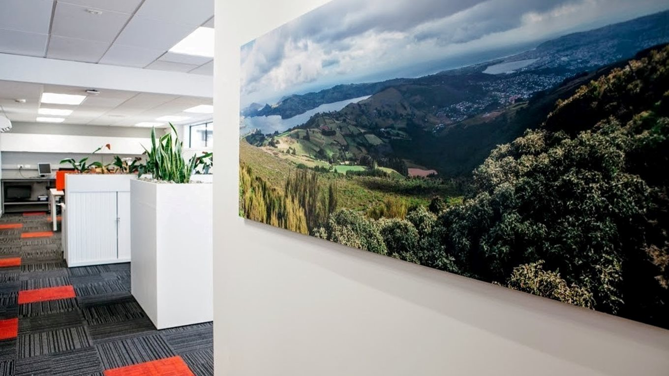 commercial fitout signs dunedin office interior dunedin