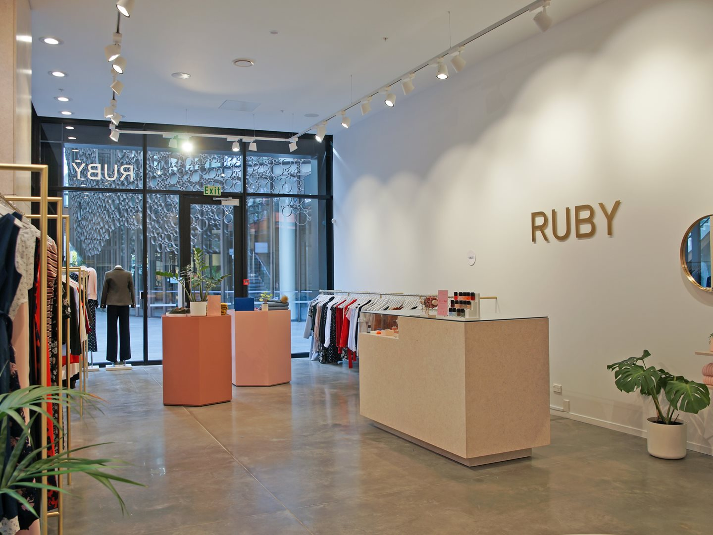 ruby the crossing shopfit out