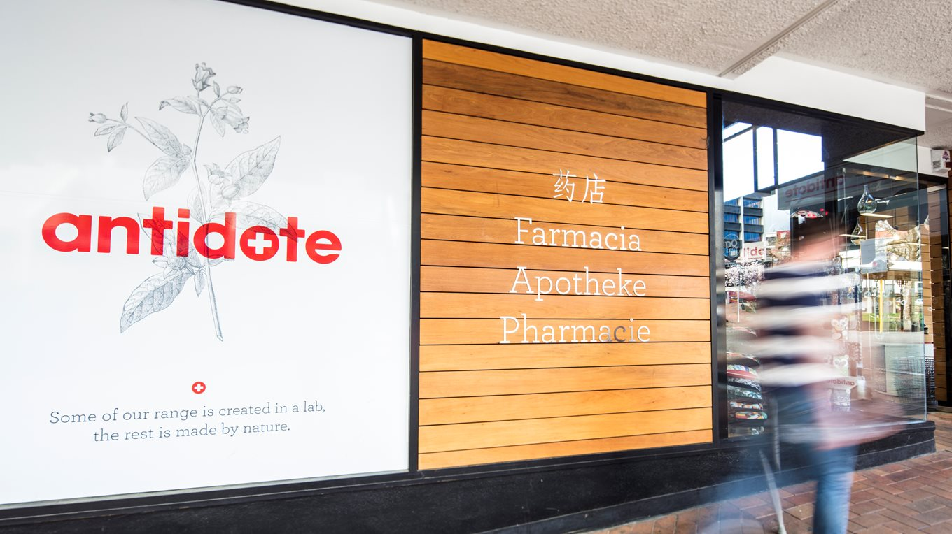 Pharmacy branding and fit out NZ