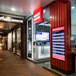 external illuminated signage flight centre dunedin thumbnail