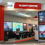 illuminated signage flight centre northlands thumbnail