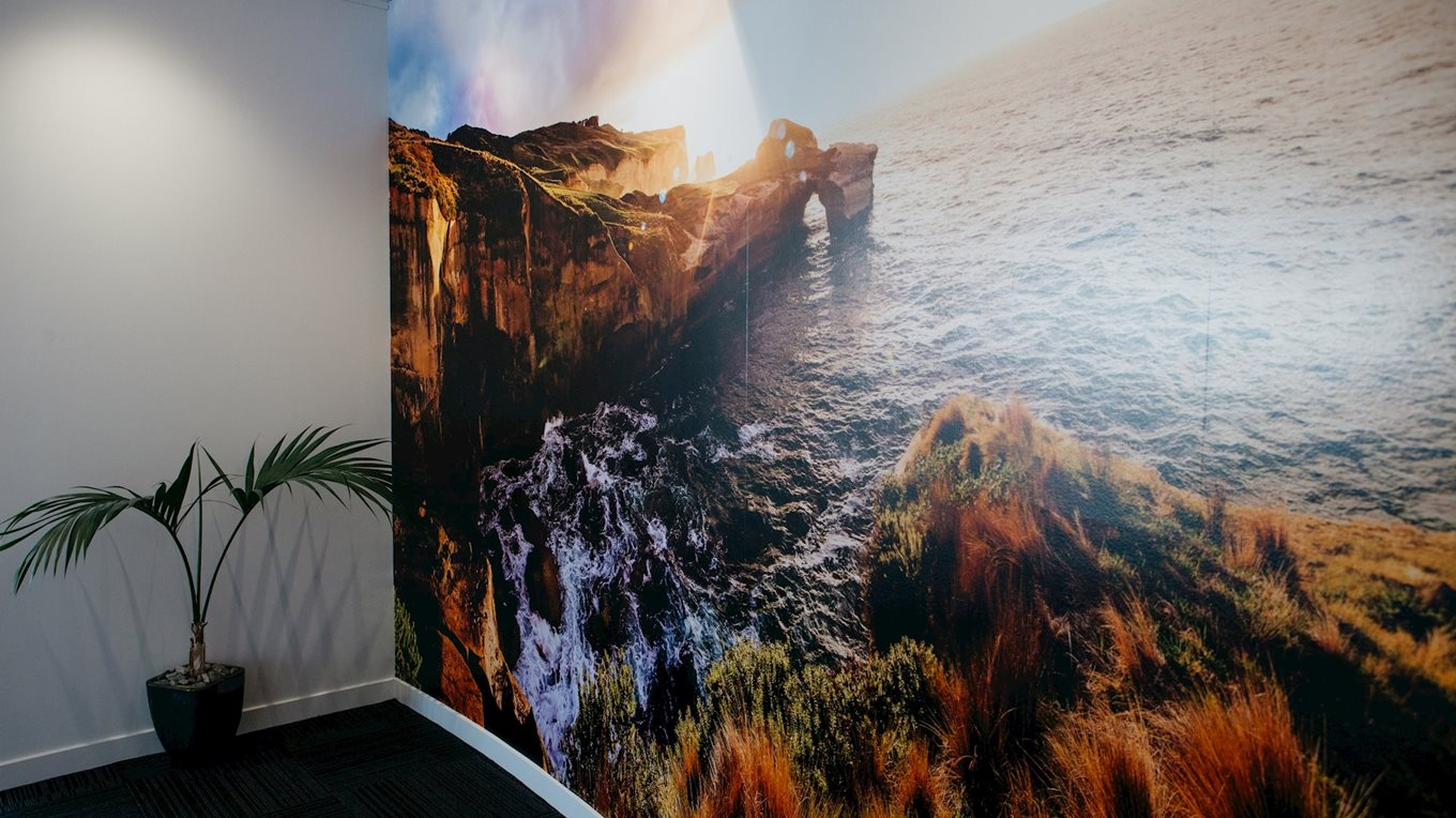 large format printing and installation