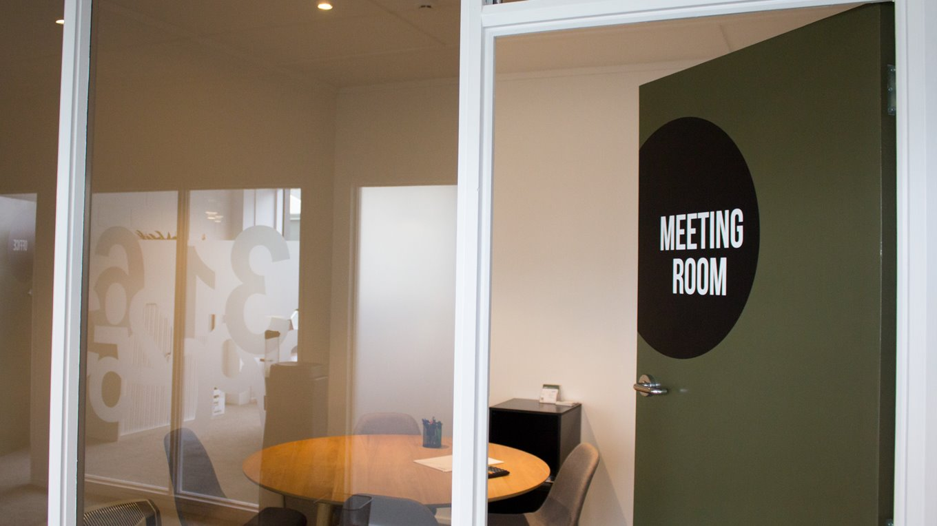 office signage by miller creative dunedin