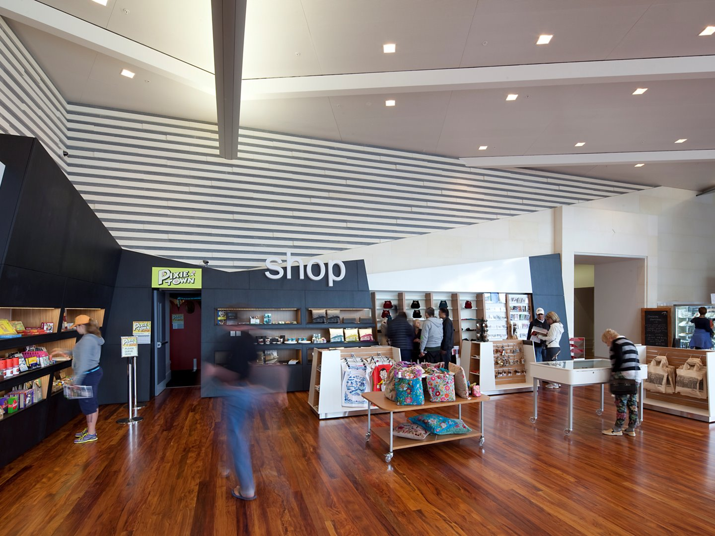 museum retail space new zealand