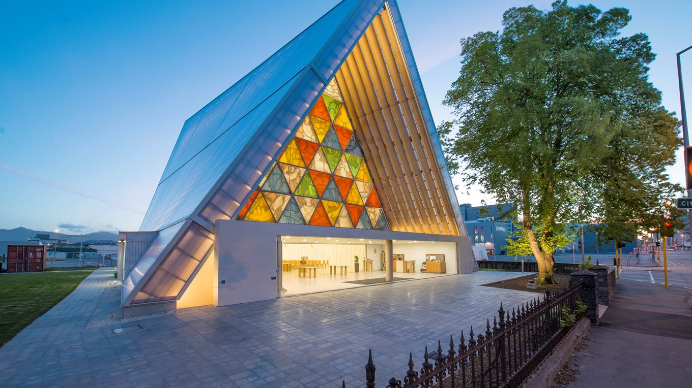 Christchurch Cardboard Cathedral Bespoke Joinery