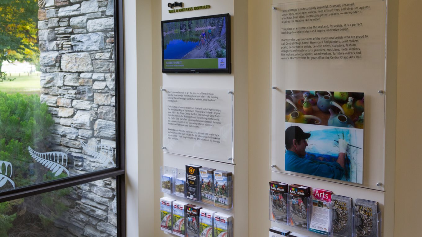 bespoke displays and fit out central otago