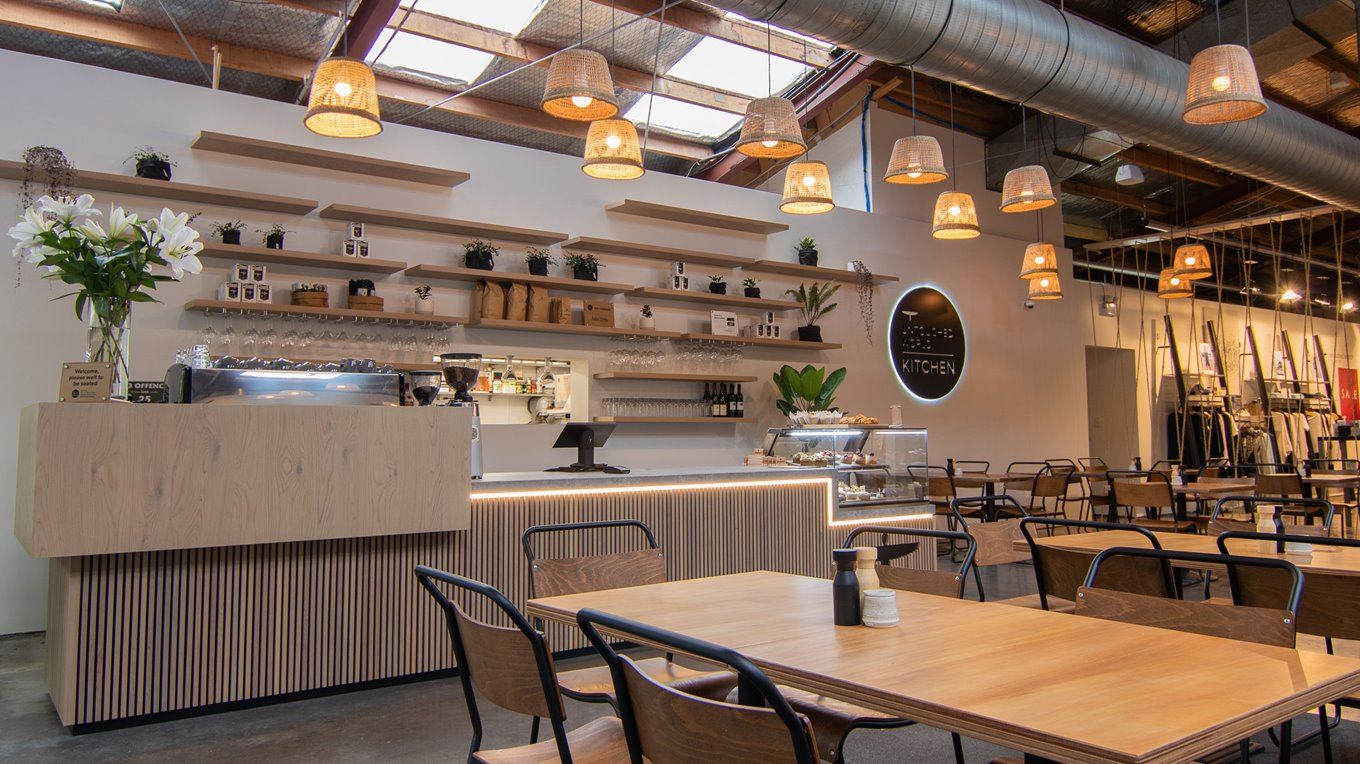 Cafe fitout by Christchurch Contractors