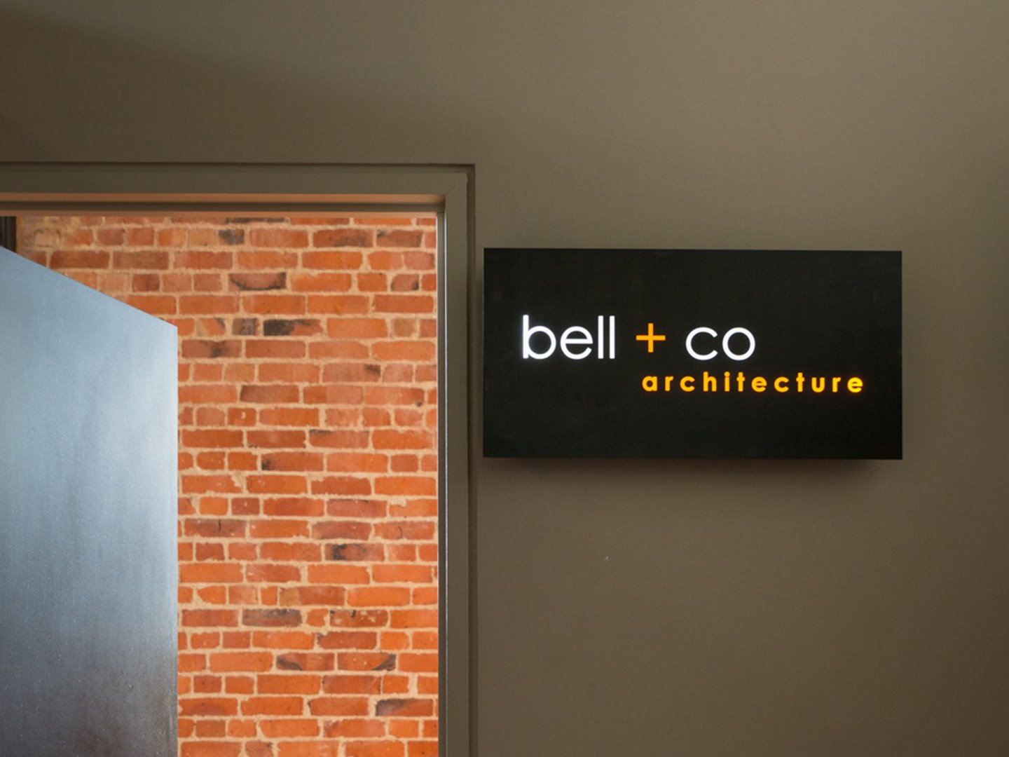 Signwriters Dunedin complete internal office signage