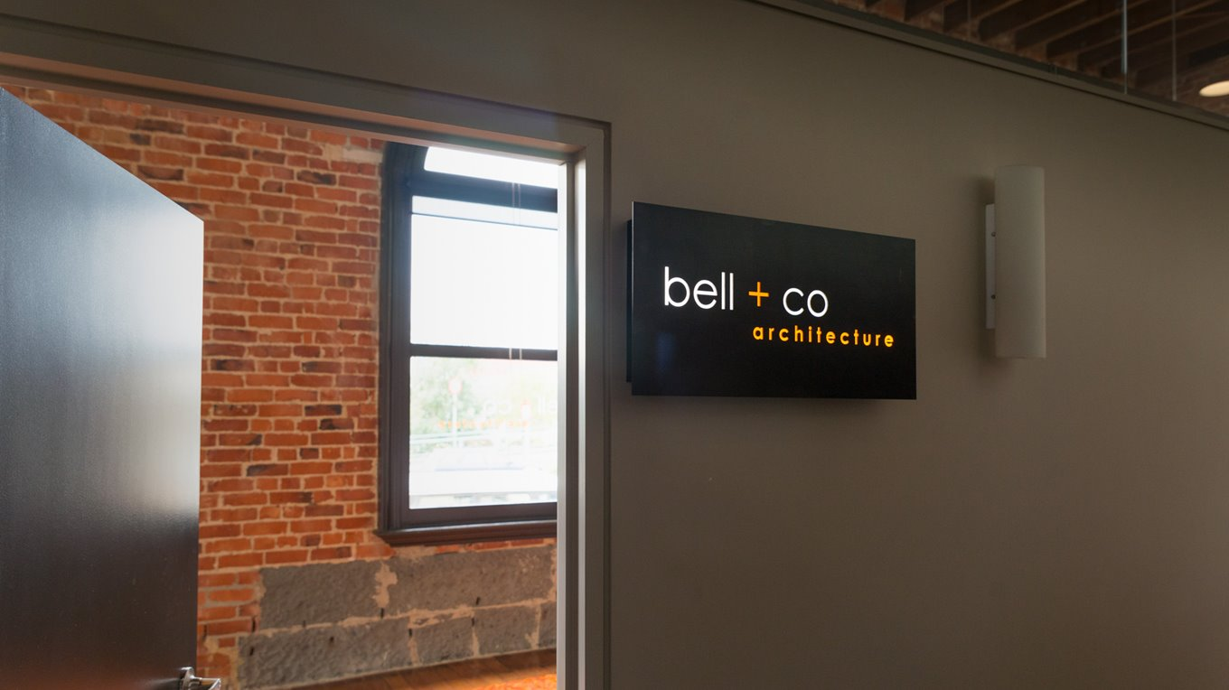 3d lettering sign completed for local office
