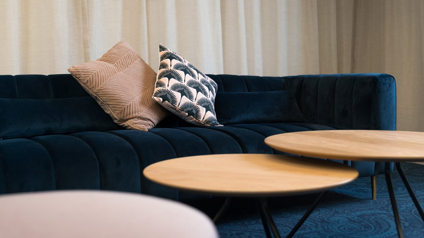 Dunedin interior designers complete a modern function room for Victoria Hotel
