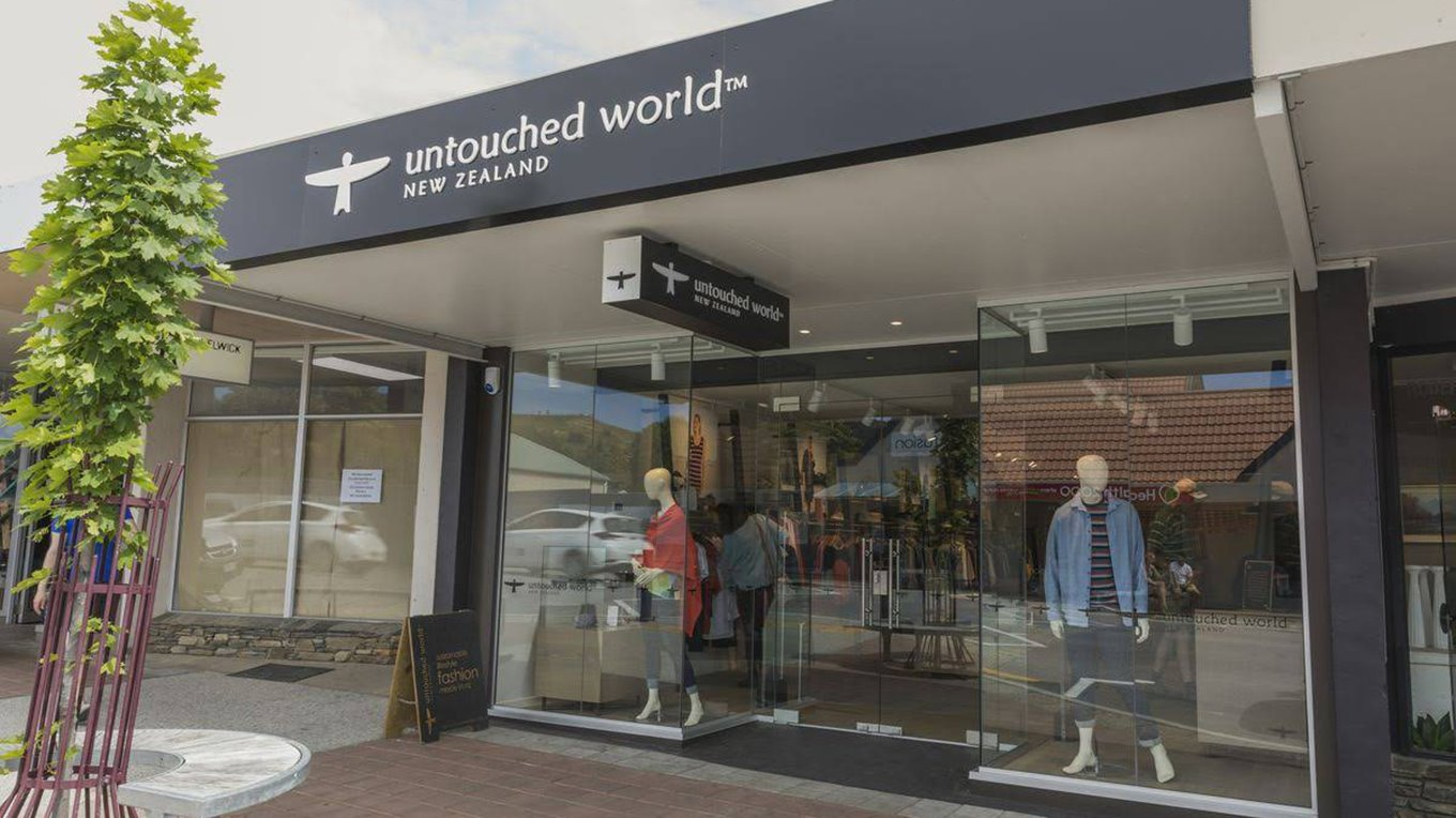 Retail Shopfitters complete new Untouched World Store in Wanaka