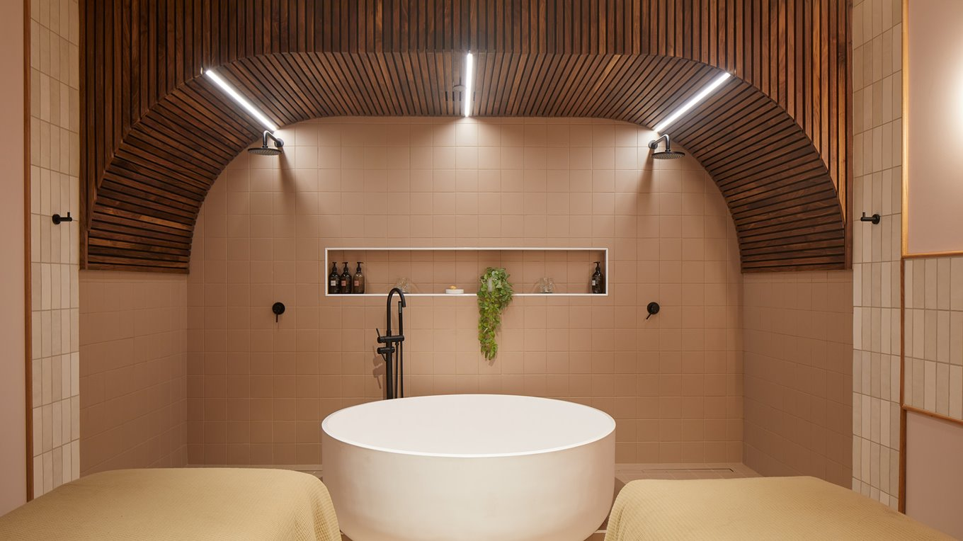 Joinery fitout completed by Miller Creative Group for Sudima Hotel's Day Spa